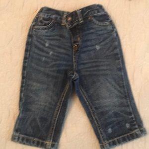 Ralph Lauren distressed jeans 9 months
